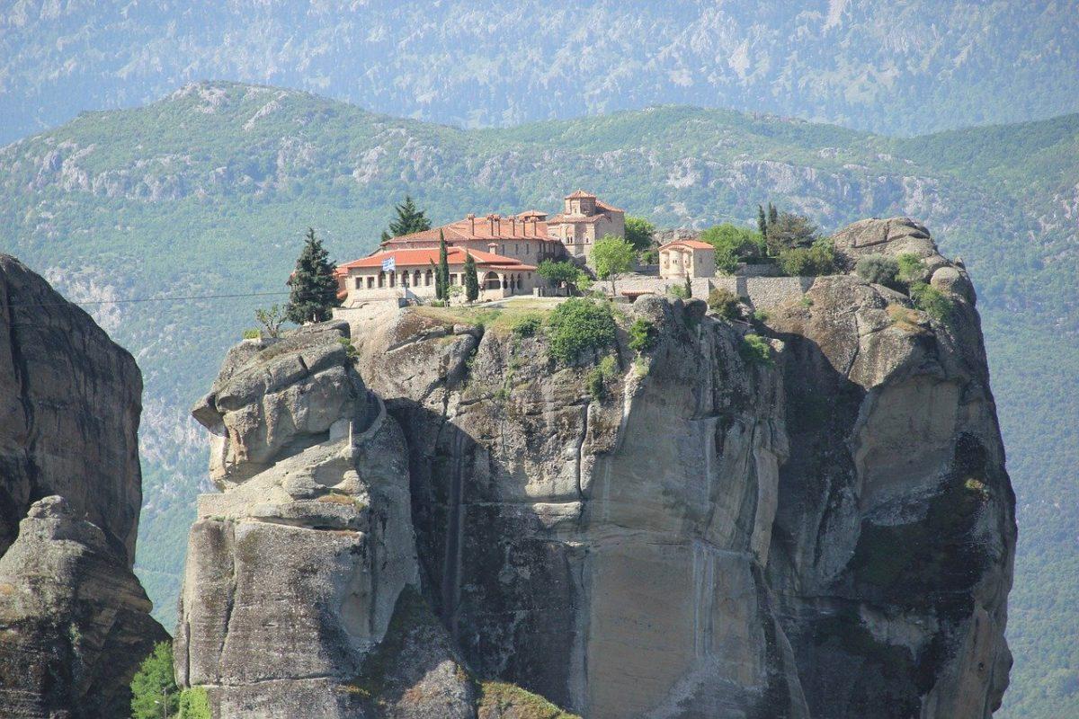 the Meteora in Greece